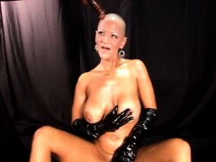 Bold mature dominatrix and...