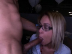 Clothed amateur hos suck cocks
